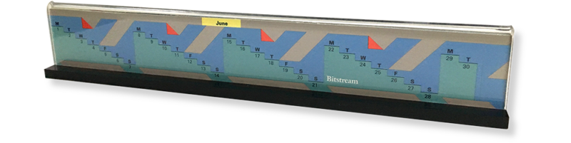 Bitstream Inc. Promotional Calendar 2
