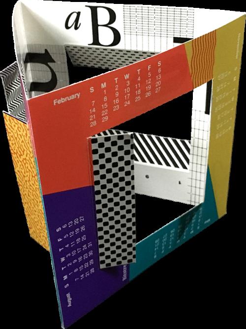 Bitstream Inc. Promotional Calendar 3