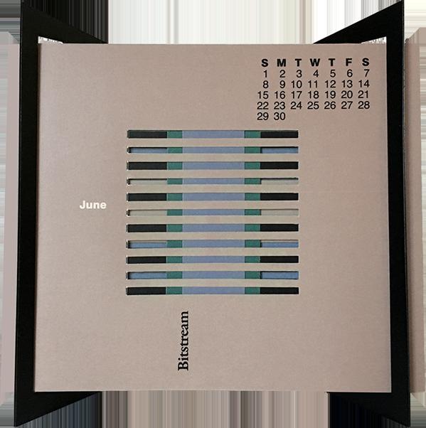 Bitstream Inc. Promotional Calendar 1