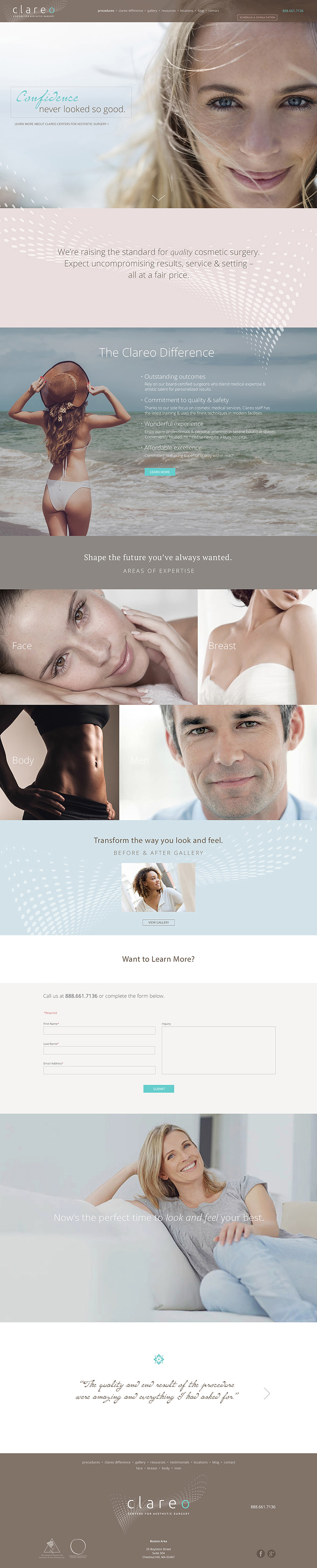Clareo Centers for Aesthetic Surgery