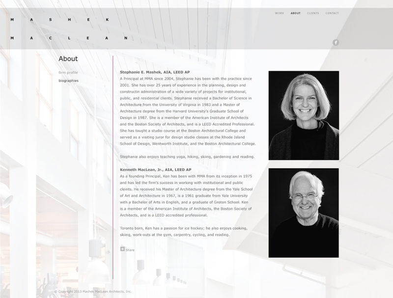 Mashek MacLean Architects